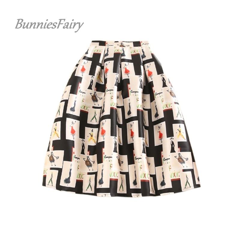 Topgrowth Gonna Donna Natale Santa Stampata Pieghe Gonne Vintage Casual Festa Swing Gonna da Pattinatrice Mini A-Line Skirt
