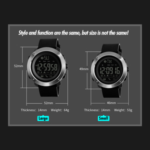 Image 5 - Skmei Fashion Bluetooth Smart Men Watches Calorie Digital Sports Pedometer LED Watch Call Reminder Waterproof Wristwatch Zegarki