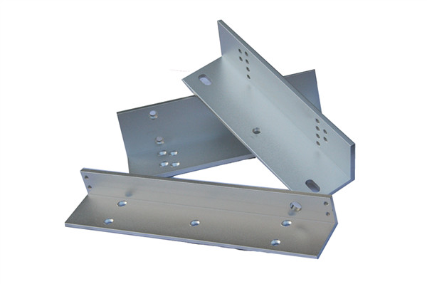 Inswing Door Usage LZ-shape Bracket for Electromagnetic Lock with 180kg Holding Force  цена и фото