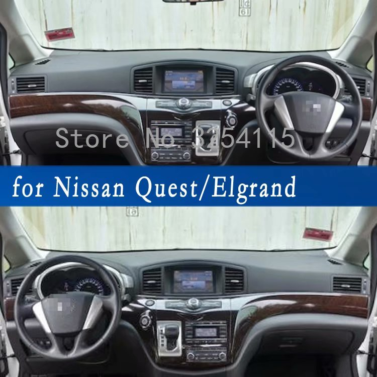 Liandlee Car Head Up Display HUD For Nissan Elgrand Quest RE52 2010
