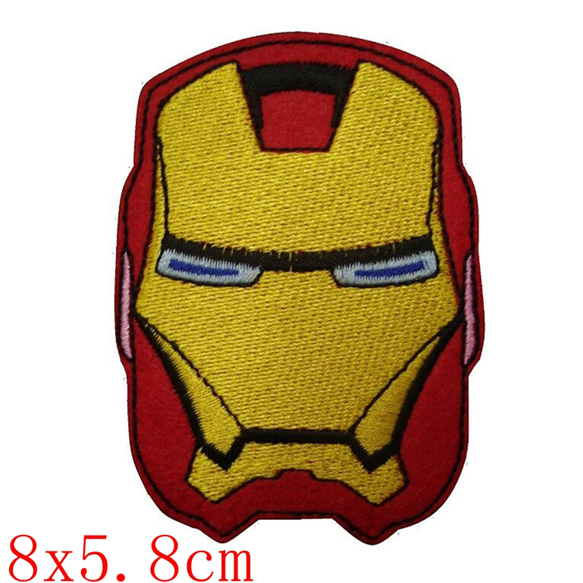 1PC New Arrival Hero Anime Comic The Avengers Batman Embroidered Movie Iron on Parches Patch Custome TRANSFER APPLIQUE in Patches from Home Garden