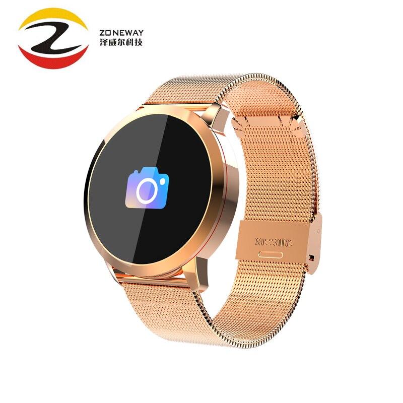 Q8 Bracelet Intelligent Bracelet de sport Intelligent montre intelligente fréquence cardiaque pression artérielle moniteur de sommeil rappel Intelligent sport Tracker