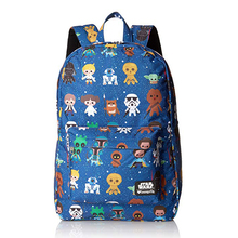 Women's Backpack Nylon Star Wars Classic All Over Print Kids Backpack bag Fast shipping school bags