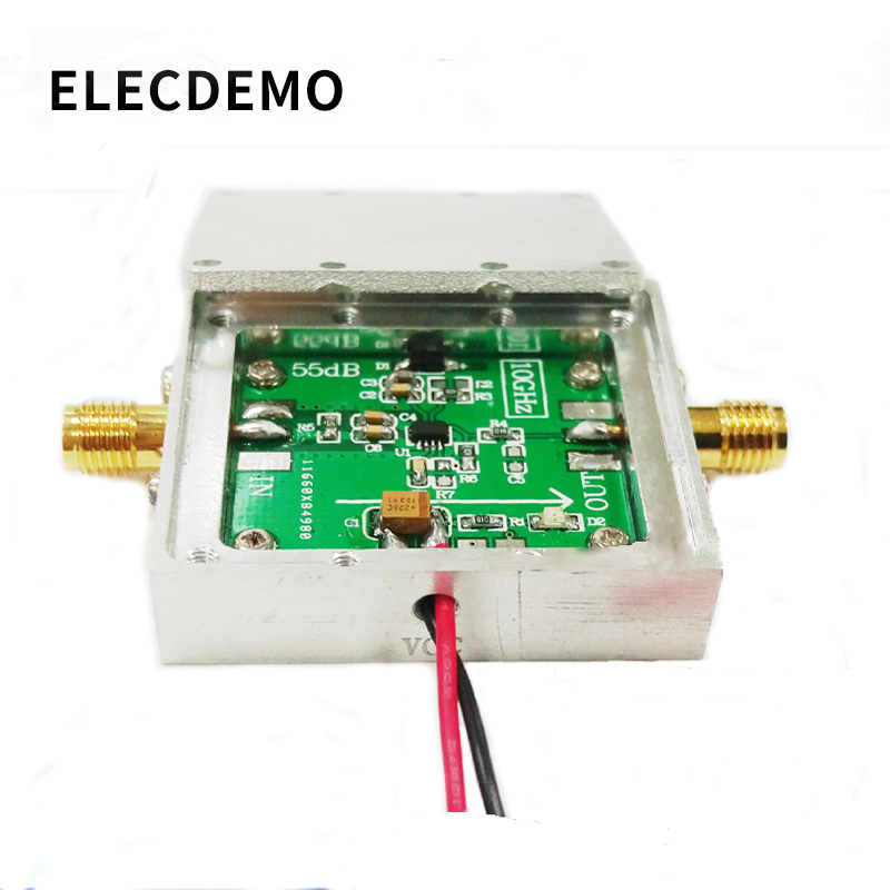 AD8317 ModuleLogarithmic Amplifier RF Power Detector 1M 10GHz RF Power Meter-in Demo Board Accessories from Computer & Office