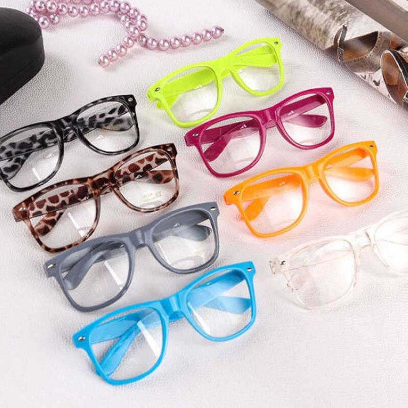 Mayitr 1 unid moda nerd Gafas lente del claro geek Gafas marco ...