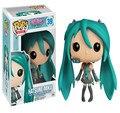 Симпатичные Японии Аниме 12 см 2 Стилей Funko Pop Vocaloid Hatsune Мику Kawaii Коллекция Рисунках Куклы Детей Игрушки Для Детей подарки