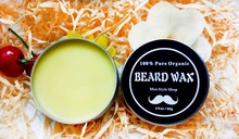 100% Natural & Organic Beard Conditioner – Leave in Beard Wax for Men, with 13 Natural / Organic Ingredients to Condition Beard