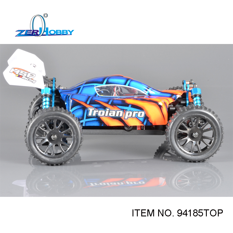 RC CAR HSP BUGGY 1/16 ELECTRIC BRUSHLESS 4WD OFF ROAD RTR R/C CAR (item no. 94185TOP) 02023 clutch bell double gears 19t 24t for rc hsp 1 10th 4wd on road off road car truck silver