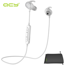 QCY sets QY19 sports wireless headphones bluetooth 4.1 aptx stereo stereo earphones headset and portable pouch