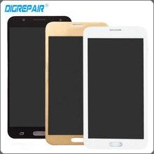 Oro blanco Negro Pantalla LCD Para Samsung Galaxy J7 SM-J700M J700H J700M J700DS Cristal de la Pantalla Táctil con la Asamblea Del Digitizador