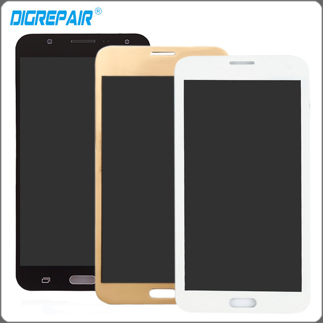 White Black Gold LCD Display For Samsung Galaxy J7 SM-J700M J700H J700M J700DS Touch Screen Glass with Digitizer Assembly