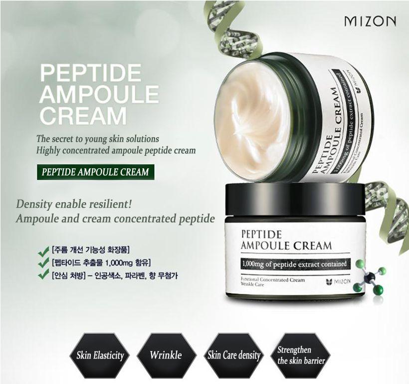 MIZON Peptide Ampoule Cream 02