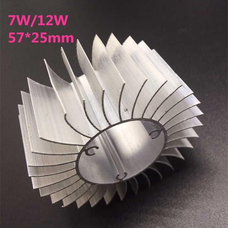20pcs/lot LED Aluminum Heatsink LED Radiator For 7W 12W High Power Lamp DIY LED Cooler dissipador de calor UFO PCB Radiator
