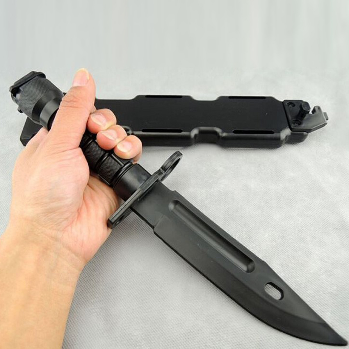 Free Shipping Military Enthusiasts Birthday Gift CS CF Cosplay Toy Training Props Outdoor Fun Tactical Knife Model Rubber Dagger