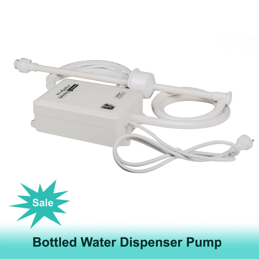 BW2000A bottle water drink dispenser pump for ice maker/coffee maker 15hp water cooled condenser for ice maker machines