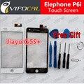 Elephone P6i tela sensível ao toque + Ferramentas 100% telefone móvel Original painel de Digitador de vidro Substituição Conjunto Da tela Para telefone celular