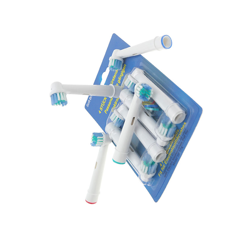 4PCS Electric Replacement Toothbrush Heads For Oral B Electric Tooth Brush Hygiene Care Clean image