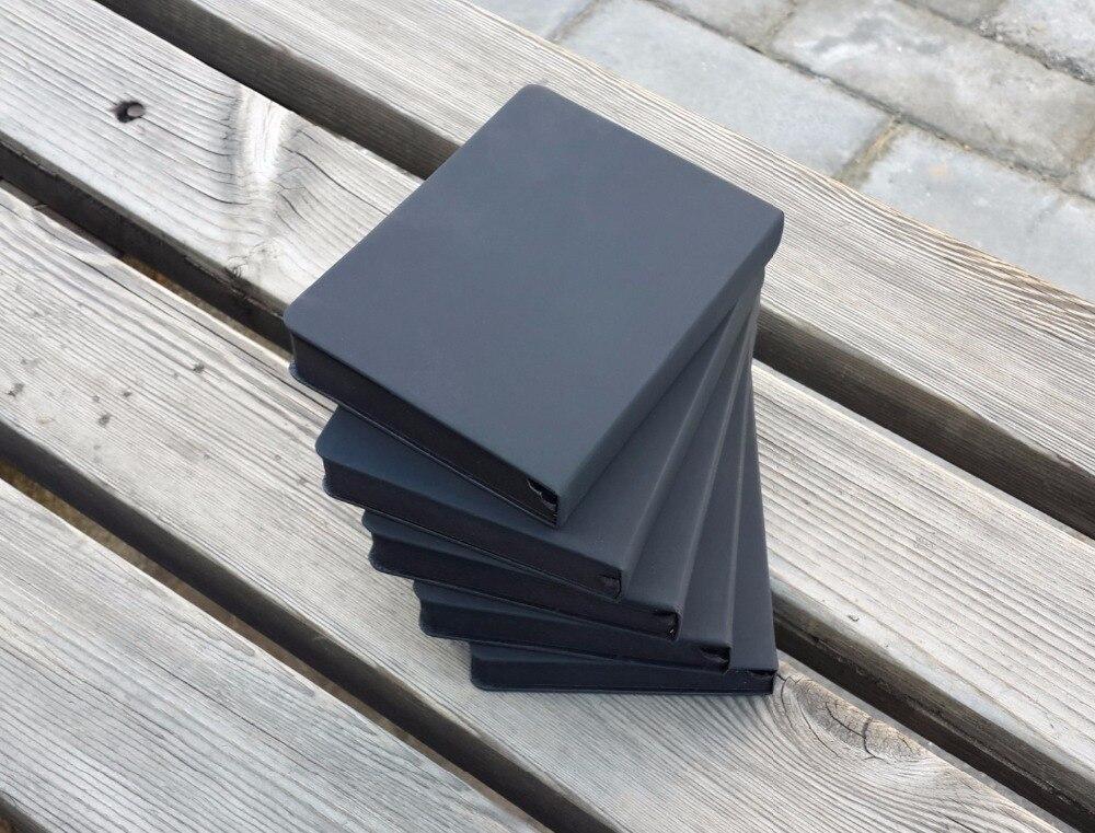 A5/A6 Черный Пустой Блокнот, DIY Пустой Черный Бумаги Sketch Book