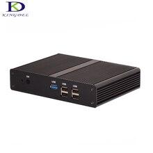 Дешевый безвентиляторный настольных ПК Intel Celeron N2810/Pentium N3520 Intel HD Graphics USB 3.0 HDMI VAG крошечный ПК USB NC490
