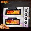 Оптовая продажа продуктов Коммерческая печь для выпечки хлеба газовая печь для пиццы Промышленная Электрическая палубная печь для пригото...