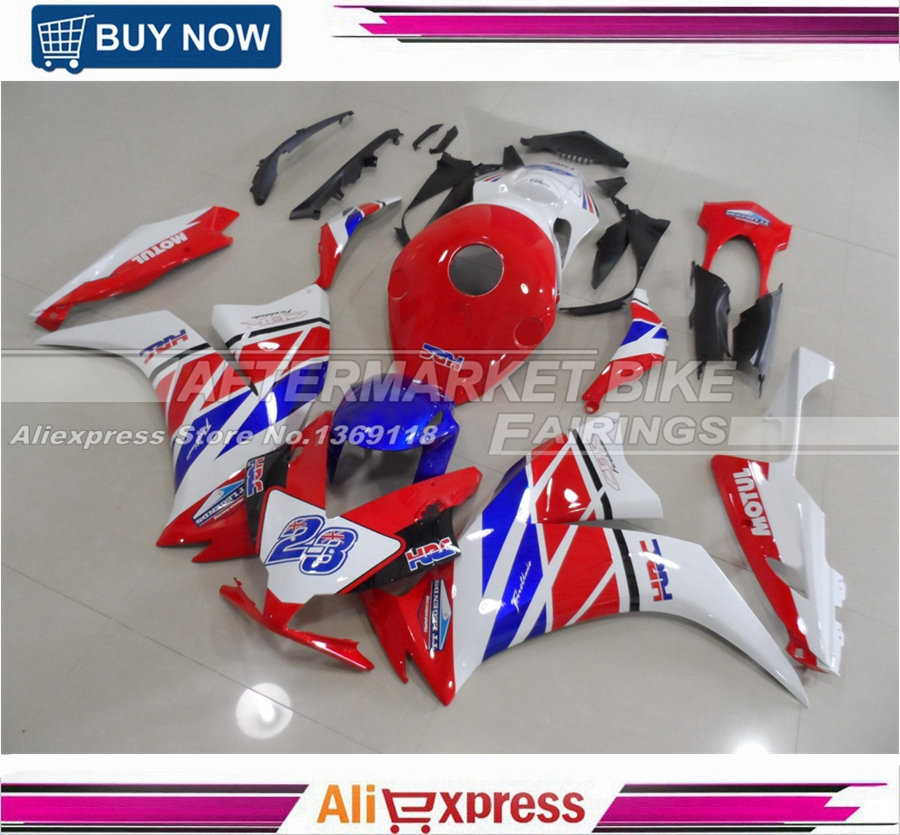 RED WHITE No.23 HRC 2012 2013 2014 CBR1000RR Motorcycle Fairing Kit For Honda 12 13 14 CBR1000 RR bigbang 2012 bigbang live concert alive tour in seoul release date 2013 01 10 kpop
