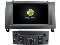 Android 8.0 8 octa core 4GB RAM car dvd play stereo for Peugeot 407 GPS navi wifi 3g dvr radio audio BT headunit tape recorder