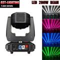 2 шт./лот led 5R Moving Head Light 200 Вт led 14 видов цветов сценическое освещение оборудование точечная лампа DMX512