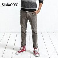 SIMWOOD Brand Pants 2017 High Quality Autumn Men S Fashion Casual Cotton Pants Formal Slim Pocket