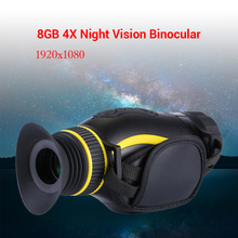 BOBLOV 4X35 Monocular Night Vision Infrared Night Vision Camera Military Digital Monocular Telescope Night Hunting Navigation
