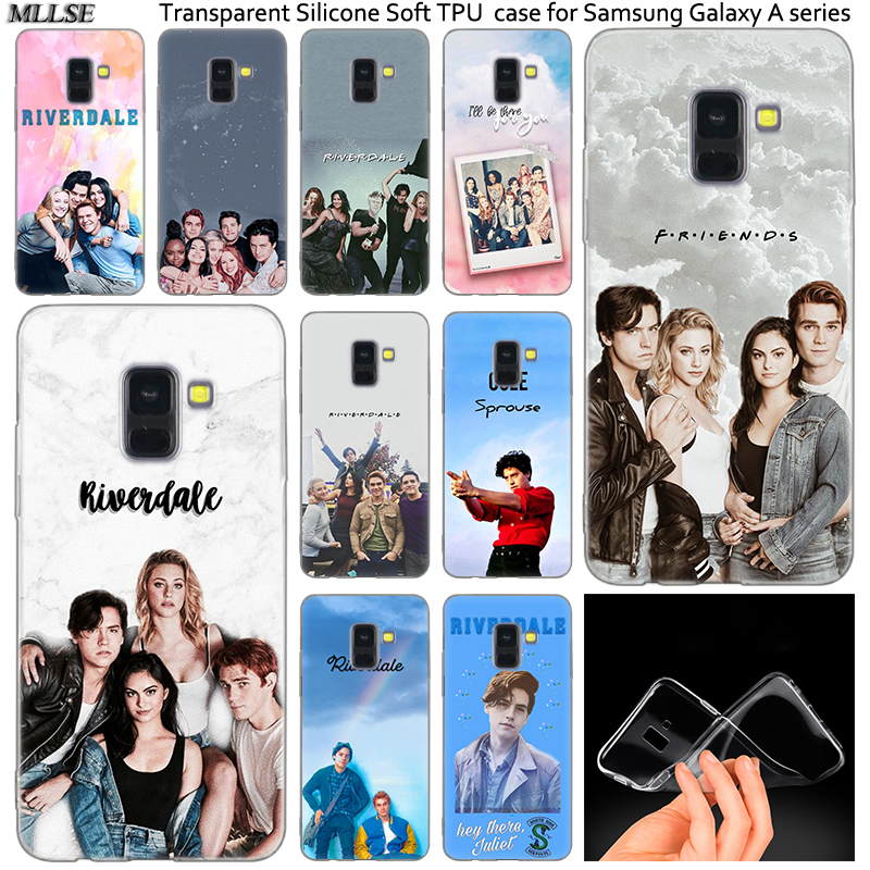 Riverdale South Side Serpents Silicone <font><b>Case</b></font> For <font><b>Samsung</b></font> Galaxy A50 A30 A10 A40 <font><b>A6</b></font> A8 Plus A20 E A5 A7 2018 2017 2016 Note 9 8 image