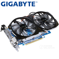GIGABYTE Graphics Card Original GTX 650 Ti Boost 1GB 192Bit GDDR5 Video Cards For NVIDIA Geforce
