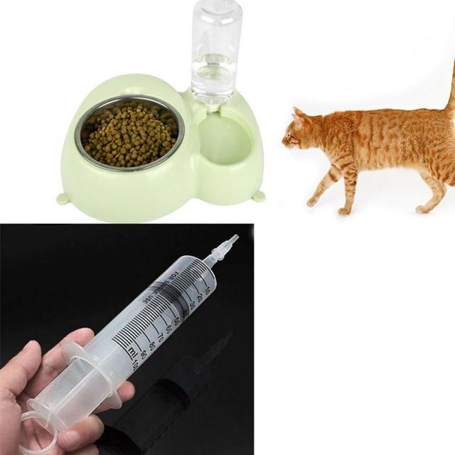 100 ml/150 ml reutilizable grande Hydroponics plástico nutriente estéril jeringuilla de medición de salud herramientas Cat accesorios de alimentación caliente