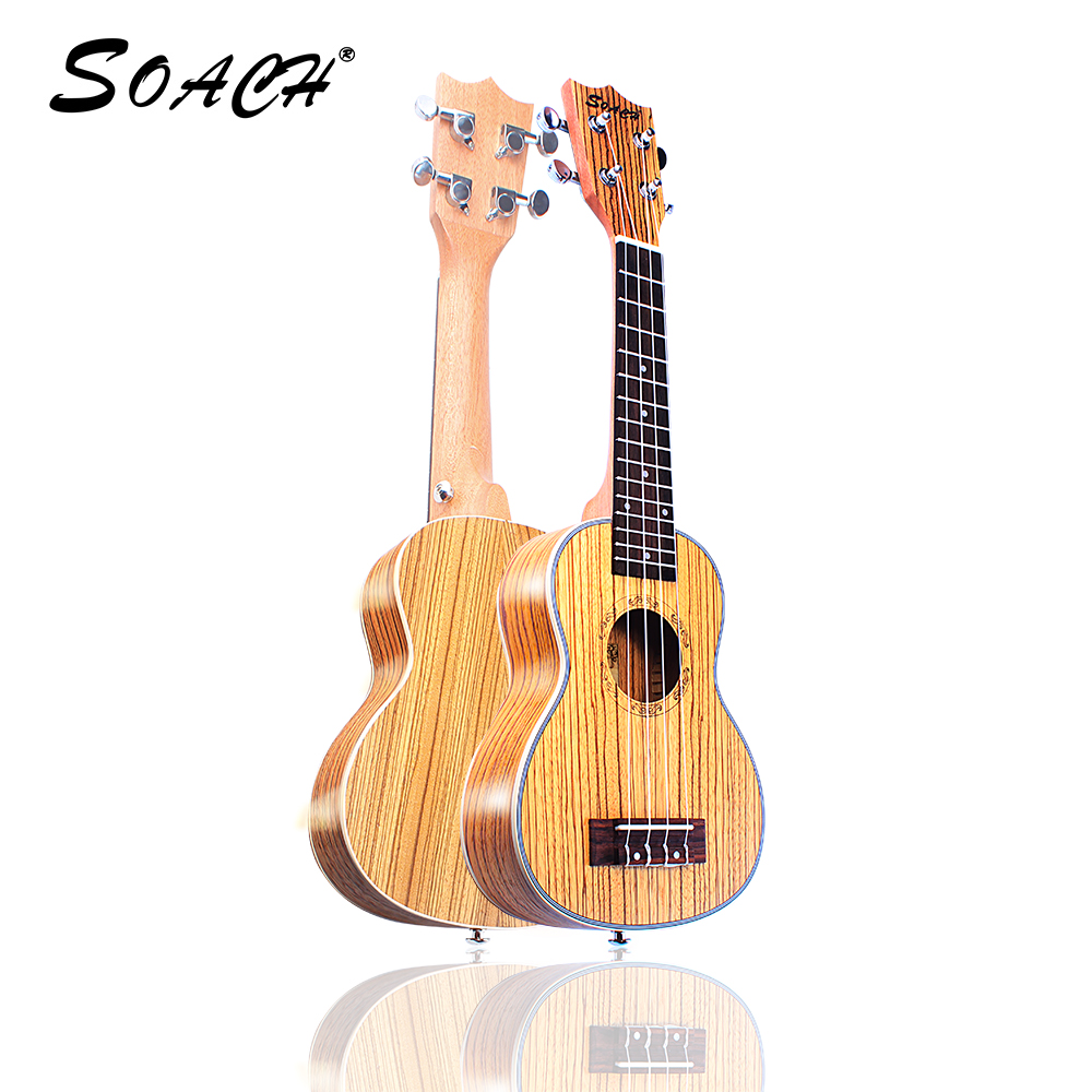 SOACH 21inch-23inch ukulele Soprano handmade rosewood fingerboard 4 string acoustic guitar beginner entry student male and femal diduo 40 inch 41 acoustic guitar beginner entry student male and female instrument wound guitarra