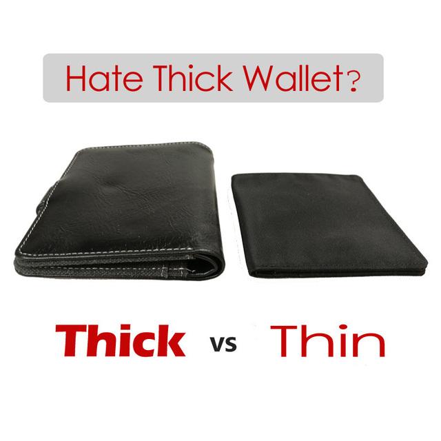 Minimalist  Ultra Thin Nylon Wallet