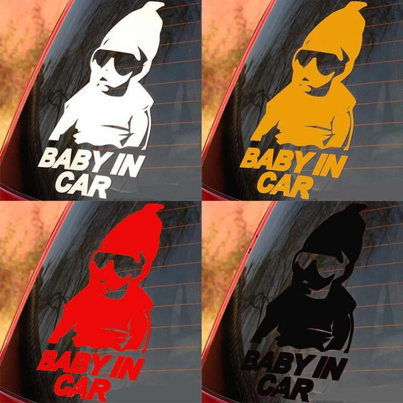Ребенок в машине Светоотражающие Тюнинг автомобилей Наклейка Водонепроницаемый Предупреждение Наклейка аксессуары