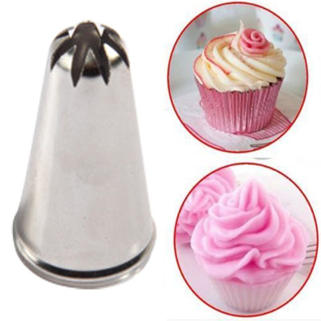 Aliexpress.com : Buy Drop Rose Flower Cup Ice Cream Piping ...