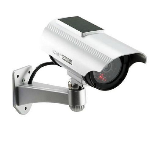 Solar Power Imitation High Simulation CCTV Camera Dummy Fake Camera  Monitor Waterproof Outdoor Surveillance Camera