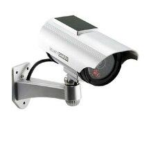 Солнечный Мощность имитация высокого Моделирование CCTV Камера Манекен Поддельные Камера монитор Водонепроницаемый наружного наблюдения Камера