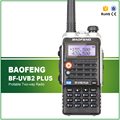 BF-UVB2 Plus Walkie Talkie Baofeng 5 W de Potencia Portátil Radio de Dos Vías VHF UHF UV de Doble Banda Walkie Talkie UVB2 Más Libres