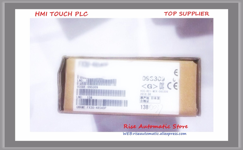 FX3U-485ADP New Original communication special adapter fx3u 4ad adp fx3u 4ad adp new in boxed