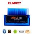 Más reciente V2.1 Super Mini Bluetooth ELM327 OBD II Interfaz Auto coche Escáner Para Android Portátil elm 327 OBD2 de Diagnóstico Del Coche herramienta