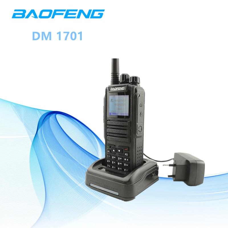2018 Baofeng DM 1701 Walkie Talkie Tier II DMR Ham Amateur Radio Station HF Transceiver Digital