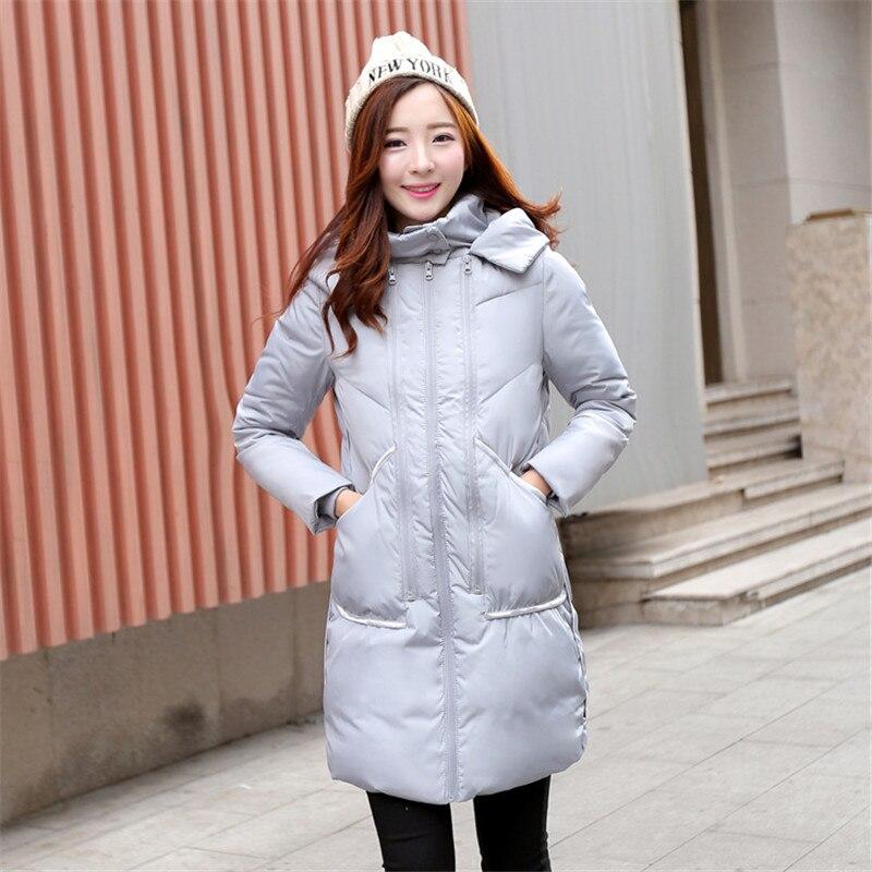 Winter Jacket Women Nice Military Long Thicker Large Size Loose Warm Down Cotton Padded Jacket Coat Women Winter Parka TT222