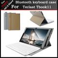 Tas quente Portátil sem fio Bluetooth Teclado Caso Para Teclast Tbook11/x16plus/x16hd 3G 10.6 polegada Tablet PC, frete grátis + presente