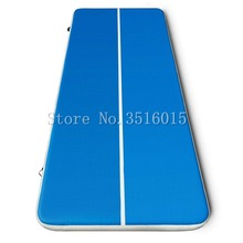 Free Shipping Factory Price 4x2x0.2m Inflatable Tumble Track Trampoline,Air Tumbling Mat ,Inflatable Air Track For Sale стоимость