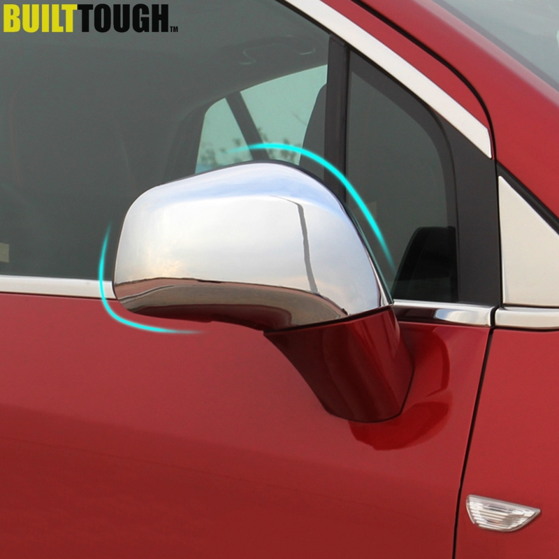 Chrome Side Rear View Mirror Molding Trim Cover for 05-10 Sportage