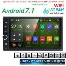 Quad Core Pure Android 7 1 Car Multimedia Player Car font b PC b font font