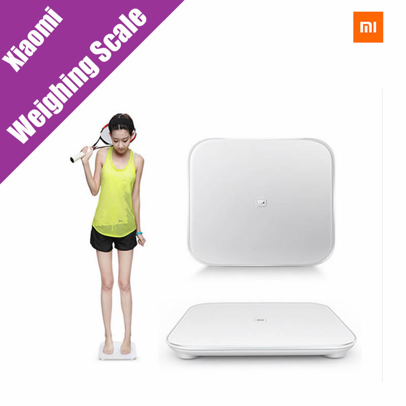 все цены на  Original Xiaomi Scale Mi Smart Weighing Scale Support Android 4.4 iOS 7.0 Above Bluetooth 4.0 Xiaomi Losing Weight Digital Scale  онлайн