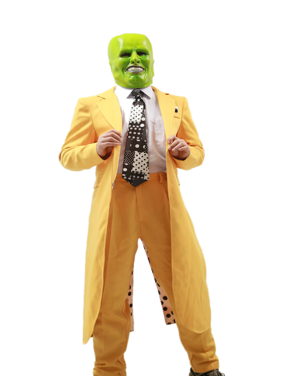 Online Shop 2015 Classic Movie Adult Jim Carrey Costume The Mask ...