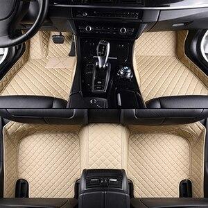 Image 4 - Custom car floor mats for Volkswagen All Models vw passat b5 6 polo golf tiguan jetta touran touareg car styling auto floor mat